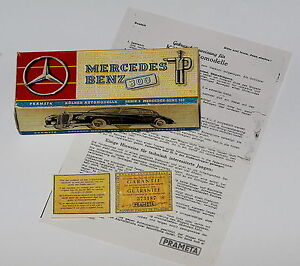 Reprobox für Prämeta Prameta Mercedes 300 + Anleitung + Garantiekarte