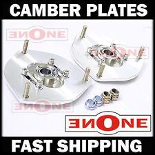 MK1 Adjustable Camber Plates Plate Struts Strut Mount Mounts 88-98 Corolla