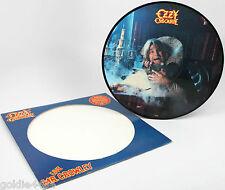 1982 OZZY OSBOURNE (live) MR CRAWLEY - MISPRINT Picture Disc VINYL EP Record