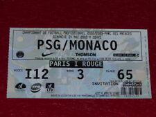 [COLLECTION SPORT FOOTBALL] TICKET PSG / MONACO 4 MAI 2003 Champ.France
