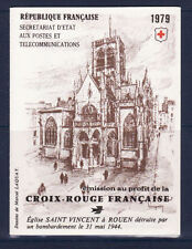 timbres France carnet croix rouge  1979 **