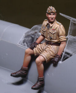 DEF. MODEL ,DO32P02, WWII Hans Joachim Marseille (Fits on BF-109F-4) ,1:32