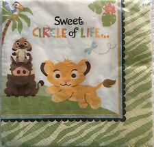 Lion King Sweet Circle of Love Lunch Napkins (16ct)