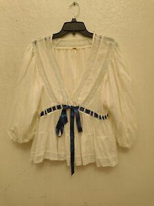free people blouse size L