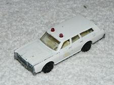 VINTAGE   MATCHBOX  SUPERFAST   NO. 55   MERCURY POLICE CAR  1971   SEHR  SELTEN