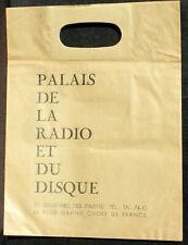 Sachet 78 trs / 78 RPM Palais de la radio et du disque Paris Bd des Italiens NM