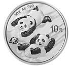China 10 Yuan 2022 Panda 30 Gramm  999 Silber * BU * gekapselt Anlagemünze