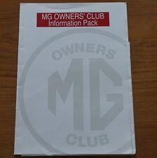 1990s 90s mg propietarios Club carpeta vacía A4 Ideal para almacenar documentos