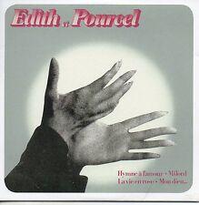 CD Franck POURCEL - Edith PIAF Edith et Pourcel (1986) - Mini LP REPLICA - CARDS