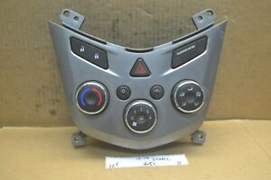 13-14 Chevrolet Sonic Ac Heater Temperature Climate 95332699 Control 125-13 Bx51