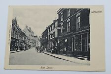 More details for vintage postcard high street uttoxeter staffordshire unposted wrench series