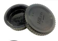 1 PCS New Rear Lens Cap+Camera Body Front Cap For NIKON D7100/D600/D3200/D5100