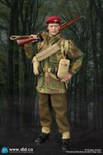 did dragon action figure ww11 british paratrooper charlie shaved face 1/6 12''