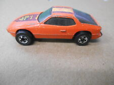 Vintage Hot Wheels Orange Die Cast Upfront 1979 Porsche 924 #2500