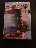 2010-11 Donruss Production Line Cracked Ice SP #2 Lebron James Heat MVP PSA 9.5?