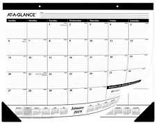 "*SALE* AT-A-GLANCE Desk/Wall Calendar Planners 2019, 21 X 3/4  X 17"", 50 Pack"