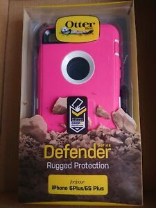 OTTERBOX DEFENDER COVER CASE FOR APPLE IPHONE 6+ 6s PLUS RUGGED HOLSTER PINK