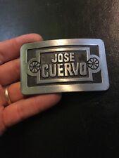 Jose Cuervo Belt Buckle Solid Metal G/Vg Tequila Captain Morgan Whiskey Bourbon