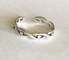 Dots ~ $5.99 All Sterling Silver Sterling Silver .925 Toe Rings Twist with