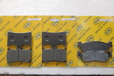 FRONT REAR BRAKE PADS fits YAMAHA YZF R6 R6S 600, 99-02 YZF-R6 YZF-R6S