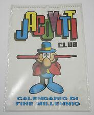 (PRL) JACOVITTI JAC COMIC ART ORIGINALE CALENDARIO FINE MILLENIO CLUB CALENDAR