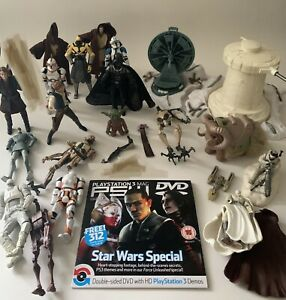 Star Wars Bundle - Battle Of Hoth - DVD - Bantha - Mixed Figures - Great