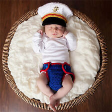 Photo Crochet Costume Photography Prop Outfit Newborn Baby Girl Boy Knit Clothes