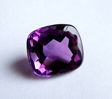UKM  Amethyst   18 x 16 mm  antik  Kissenform  20,88 Carat   buff top cut