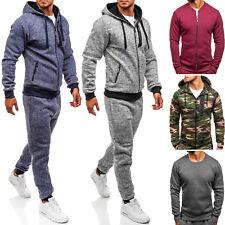 BOLF Trainingsanzug Jogginganzug Sweatshirt Sporthose Sport Herren Mix 8H8 Motiv