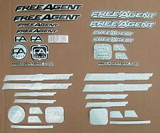 Sticker FREE AGENT FRAME STICKER PACK QUANTITY 34 pieces