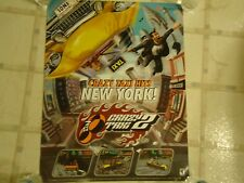 Crazy Taxi 2 Sega Dreamcast Store Promo Display Promotional Poster RARE!