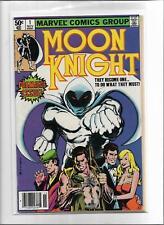 MOON KNIGHT #1 1980 VERY GOOD-FINE 5.0 6183