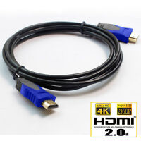 Hi-Speed HDMI Cable V2.0 3D 2160P Ethernet 4K 60Hz  HDTV LCD LED PS4 BLURAY Lot