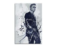 90x60cm Paul Sinus Splash tipo dipinto arte immagine Daniel Craig James Bond tipo