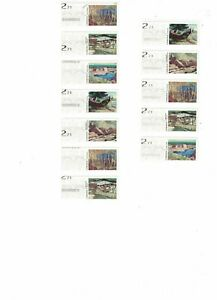 Canada, Kiosk stamps,$2.71 rate, Sheet With MAJOR Errors, LOOK
