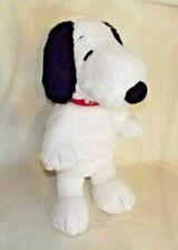 "Peanuts Snoopy 16"" Build A Bear Workshop Plush Red Collar - Peanuts Movie"
