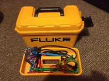 Fluke 1653 Multi function Tester Includes Probes, Neck Strap and CD DVD Manuals