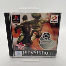 ISS Pro Evolution Playstation 1 ps1 PSX Komplett PAL Konami Black Label