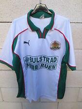 VINTAGE Maillot BULGARIE Puma trikot shirt ancien COCA COLA BULGARIA L