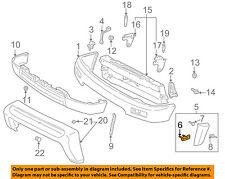 TOYOTA OEM 96-98 4Runner Front Bumper-Flare Retainer Left 5271635010