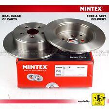 2X MINTEX DISC BRAKE REAR TOYOTA AVENSIS _T25_ ESTATE/SALOON 1.6 1.8 2.0 2.2 2.4