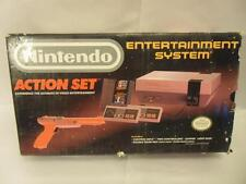 Original NES Nintendo Entertainment Action Set System in Box Complete Tested-D3