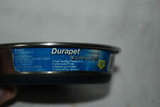 Durapet  Stainless Steel food and water bowl Dish Skid Resistant 1 cup