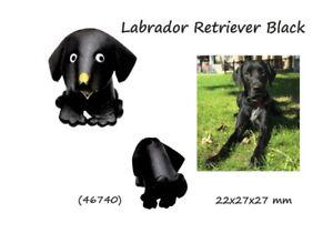 Llavero Colgante Piel Auténtica 3D Labrador Negro Hombre Mujer Hand Hecho En