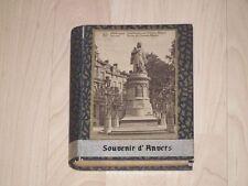 Leer Schachtel (Souvenir Anvers ) Antwerpen Belgien für Fotos oder Postkarten