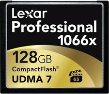 Lexar CompactFlash memory card Professional 1066x 160MB/s 128GB CF Compact Flash