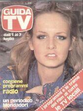 GUIDA TV 1979 N.26 TWIGGY GIULIO PLATONE AVE NINCHI TV PRIVATE TELEFILM RADIO