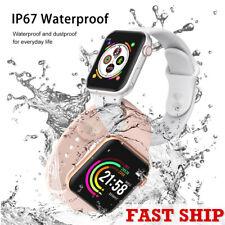 IP67 Reloj Inteligente Impermeable Fitness Tracker Presión Arterial Frecuencia Cardíaca-Envío rápido