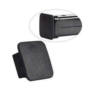 "Rubber Car Kittings 1-1/4"" Black Car Trailer Hitch Receiver Cover Cap Plug Parts"