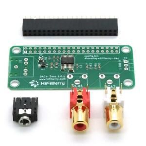 HiFiBerry DAC+ Zero RAW Soundkarte Shield Audio HAT für Raspberry Pi 3 2 B+ Zero